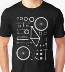 Fahrrad explodiert Slim Fit T-Shirt