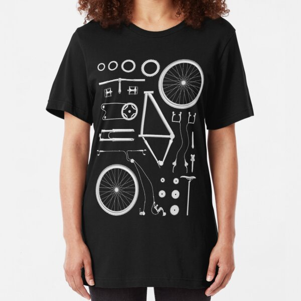 Bike Exploded Slim Fit T-Shirt