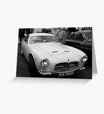 Maserati A6G Greeting Card