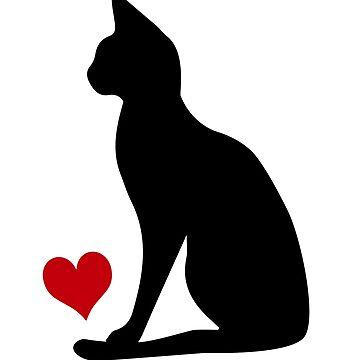 Siamese Cat by Pferdefreundin