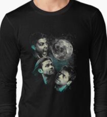 The Mountain Team Free Will Moon - Supernatural Edition Long Sleeve T-Shirt