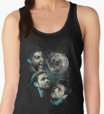 The Mountain Team Free Will Moon - Supernatural Edition Women's Tank Top