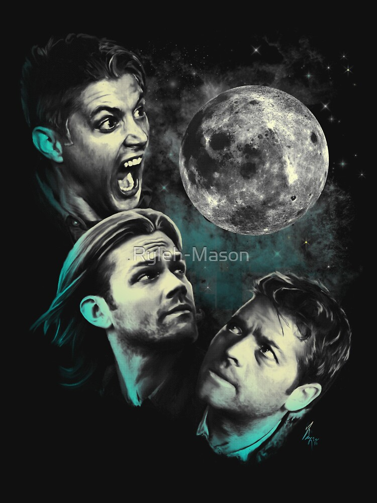 The Mountain Team Free Will Moon - Supernatural Edition | Unisex T-Shirt