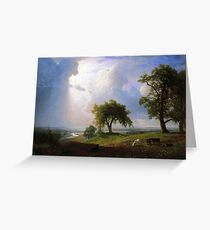 Bierstadt Albert California Spring Greeting Card