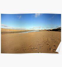 Lahinch beach view Poster