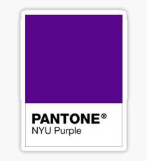 Pegatina PANTONE, NYU Purple
