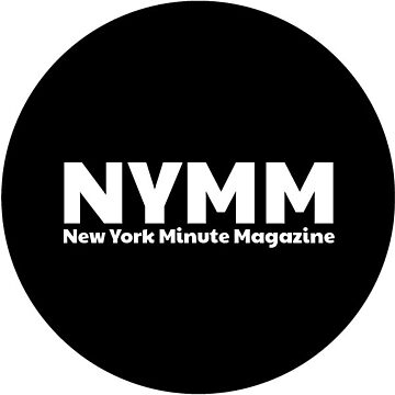NYMM Pop socket Sticker (Black) by NYMinuteMag