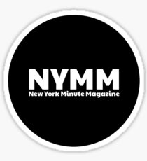 NYMM Pop socket Sticker (Black) Sticker