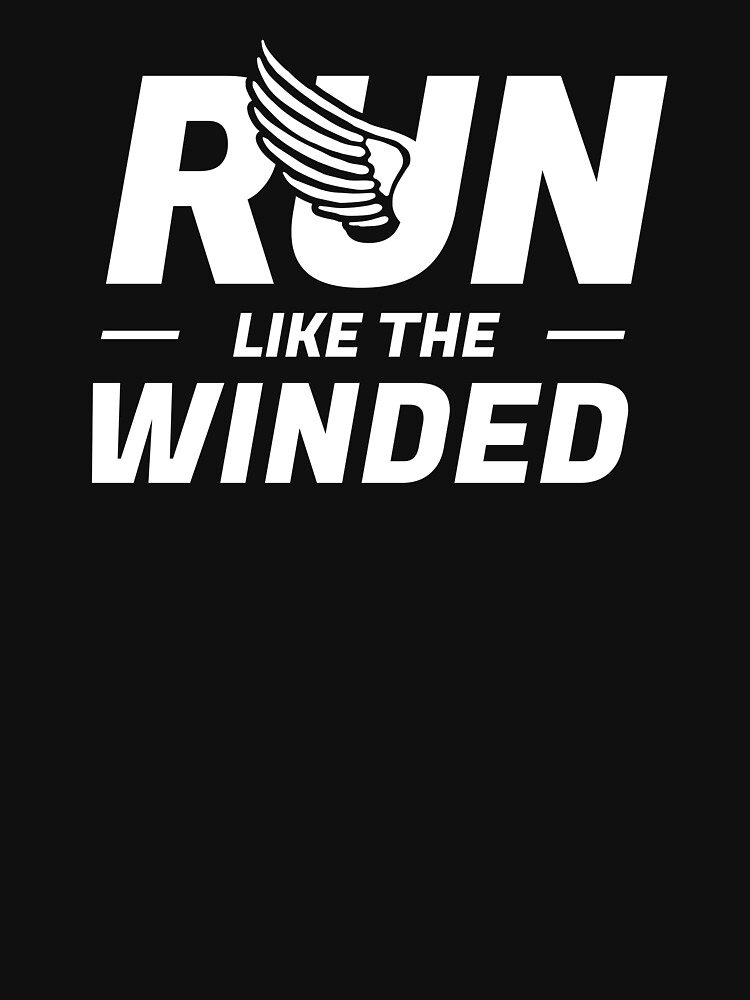 Run Like The Winded Marathon by DOODL