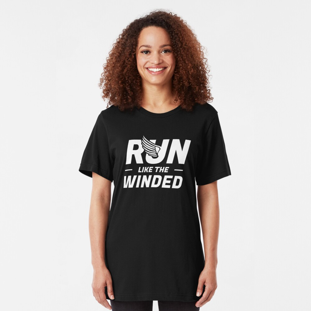 Run Like The Winded Marathon Slim Fit T-Shirt