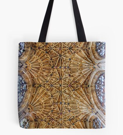 Fan Vaulted Ceiling Tote Bag