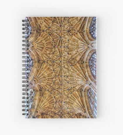 Fan Vaulted Ceiling Spiral Notebook