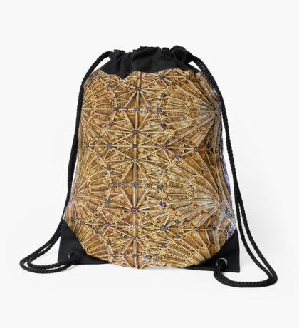 Fan Vaulted Ceiling Drawstring Bag