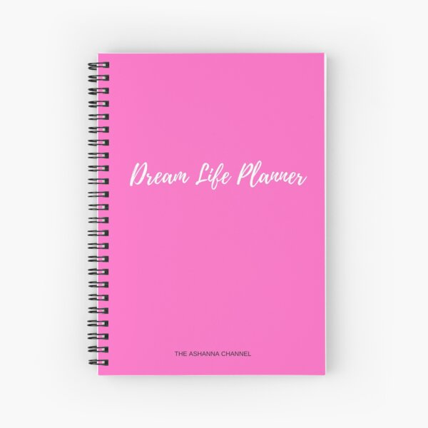 Dream Life Planner  Spiral Notebook