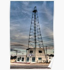 Bob's Oil Well (Matador, Texas) Poster