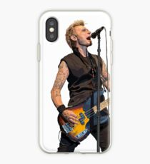 Mike Dirnt of Green Day iPhone Case