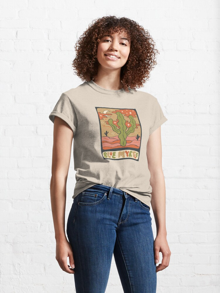 Alternate view of Cactus Tarot Cards- Blue Myrtle Classic T-Shirt