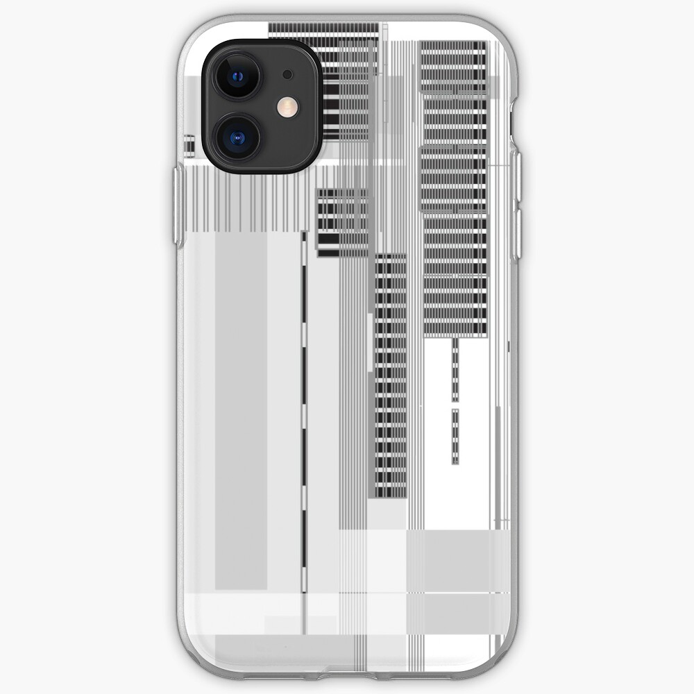 Grid Blocks iPhone Case & Cover
