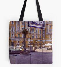 Reflected Street Life Tote Bag