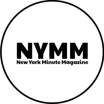 NYMM Pop socket Sticker (White) by NYMinuteMag