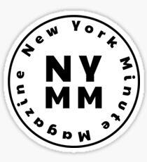 Geometric Display NYMM Pop Socket Sticker (White) Sticker