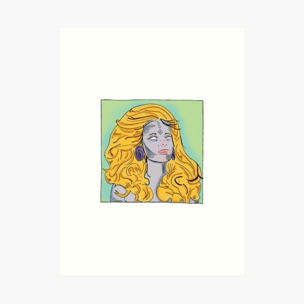 2018 Madge Art Print