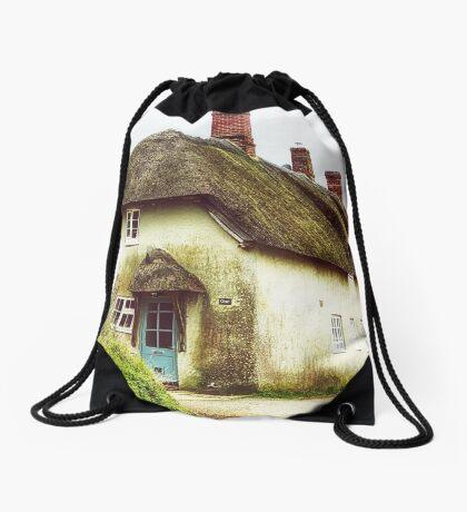 Little Thatched Cottage Drawstring Bag