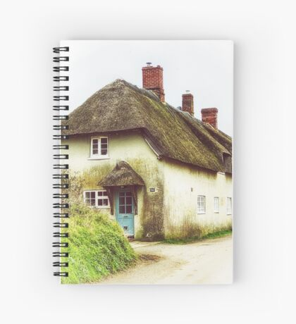 Little Thatched Cottage Spiral Notebook