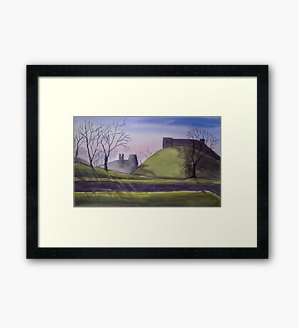 Carisbrooke Castle, Isle of Wight Framed Print