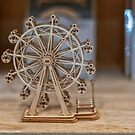 Miniature Wooden Ferris Wheel by JohnKarmouche