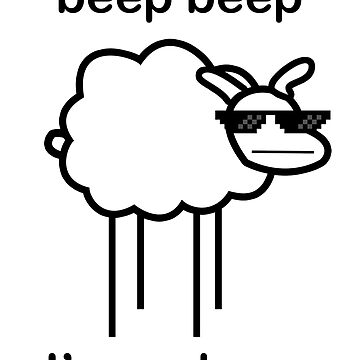 Beep beep, Ima sheep by zenclouds