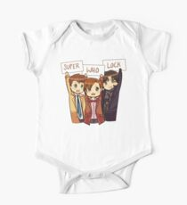 Chibi SuperWhoLock Kids Clothes
