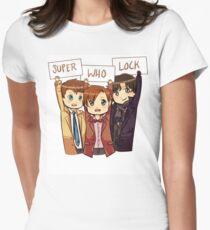 Chibi SuperWhoLock T-Shirt