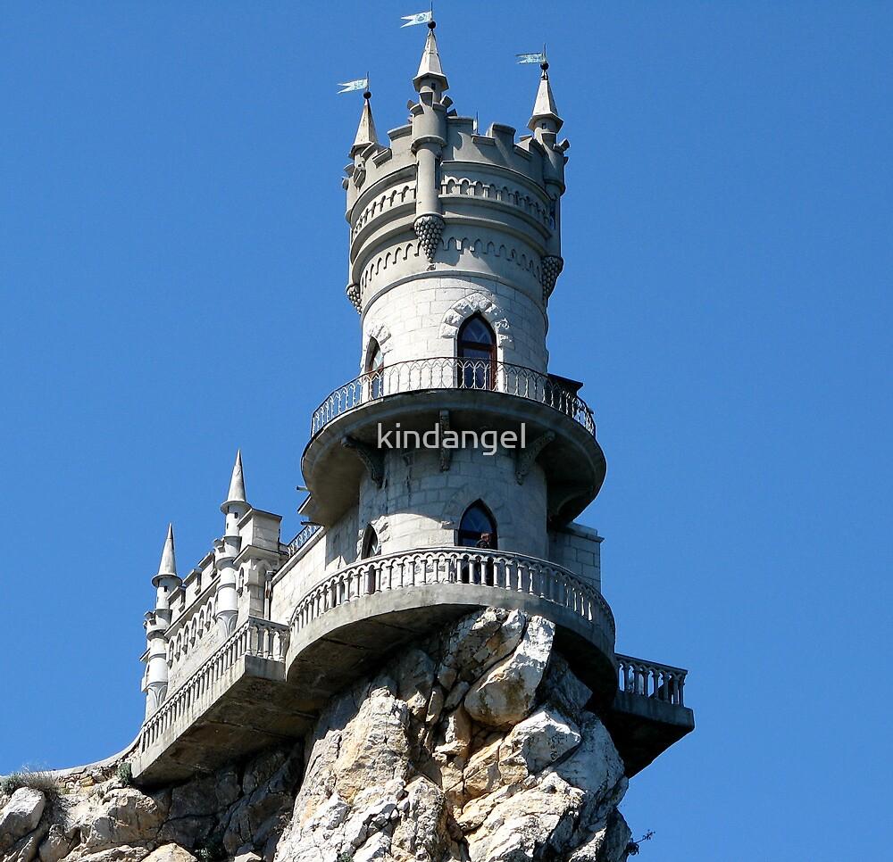 """Decorative castle """" Swallow's Nest """"    by kindangel"""