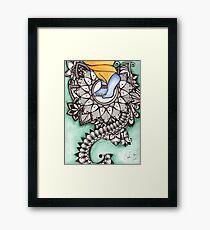 Lotus Feet Framed Print