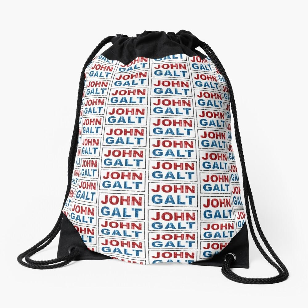 John Galt Drawstring Bag