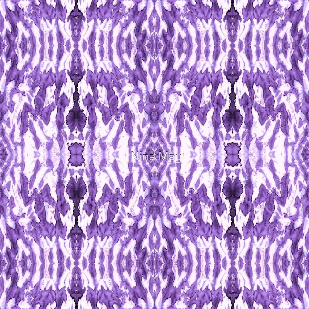 Ayashi Shibori Violet by Nina May