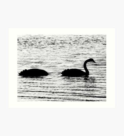 The Duckness Monster Art Print