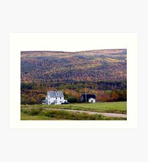 Cape Breton Homestead Art Print