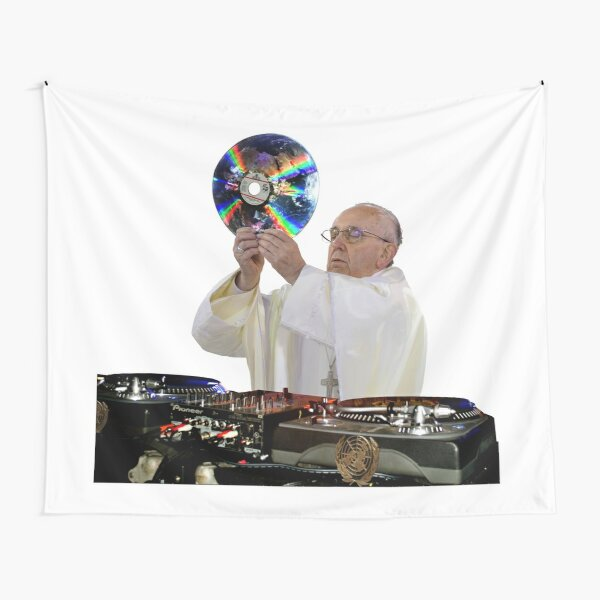 DJ Earth Pope Francis, EDM Holy Father Tapestry