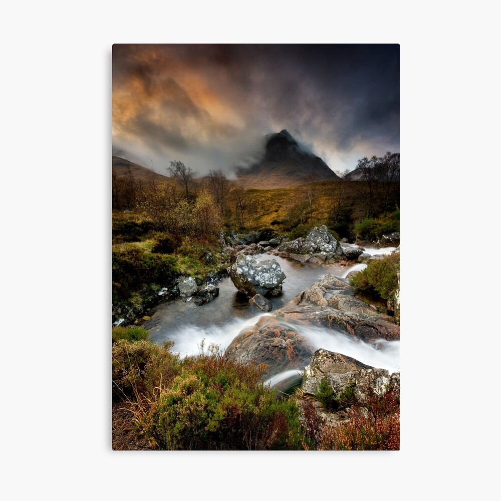 Scotland : Dragon's Breath II Canvas Print