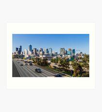 Seattle Morning Skyline Art Print