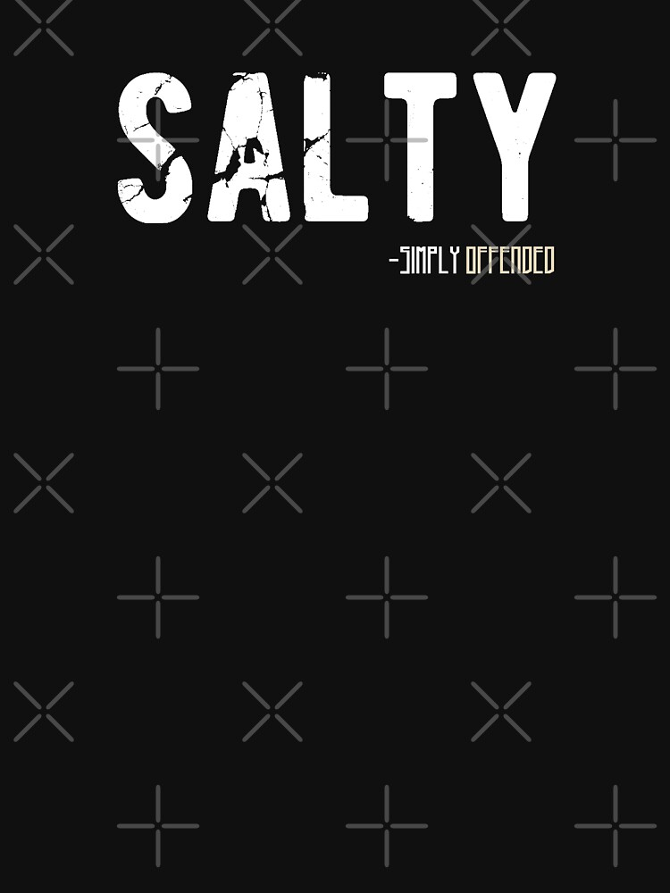 Salty Vintage Funny Urban Dictionary Millennial Quote by thespottydogg