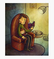 Reading stories Photographic Print