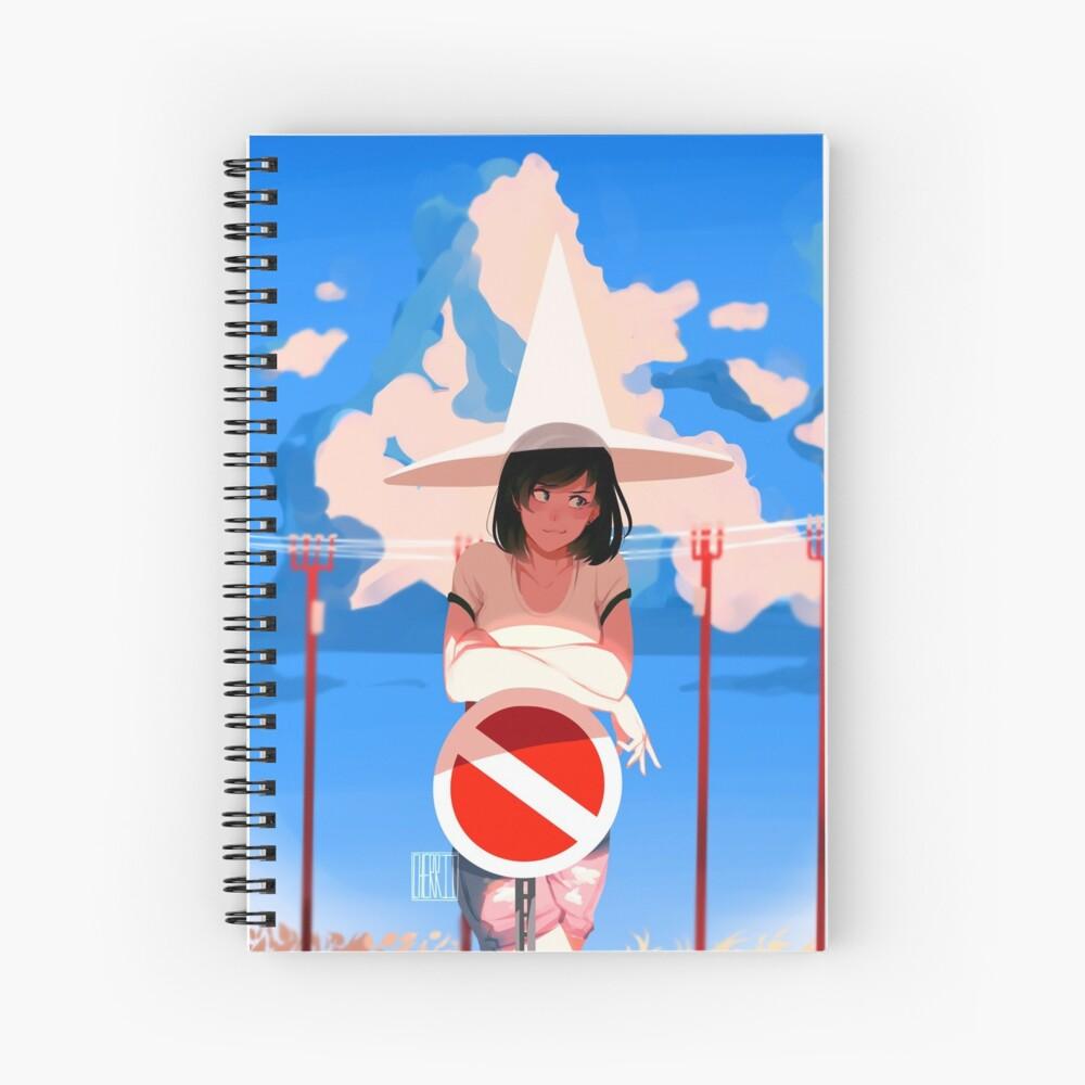 summer magic Spiral Notebook