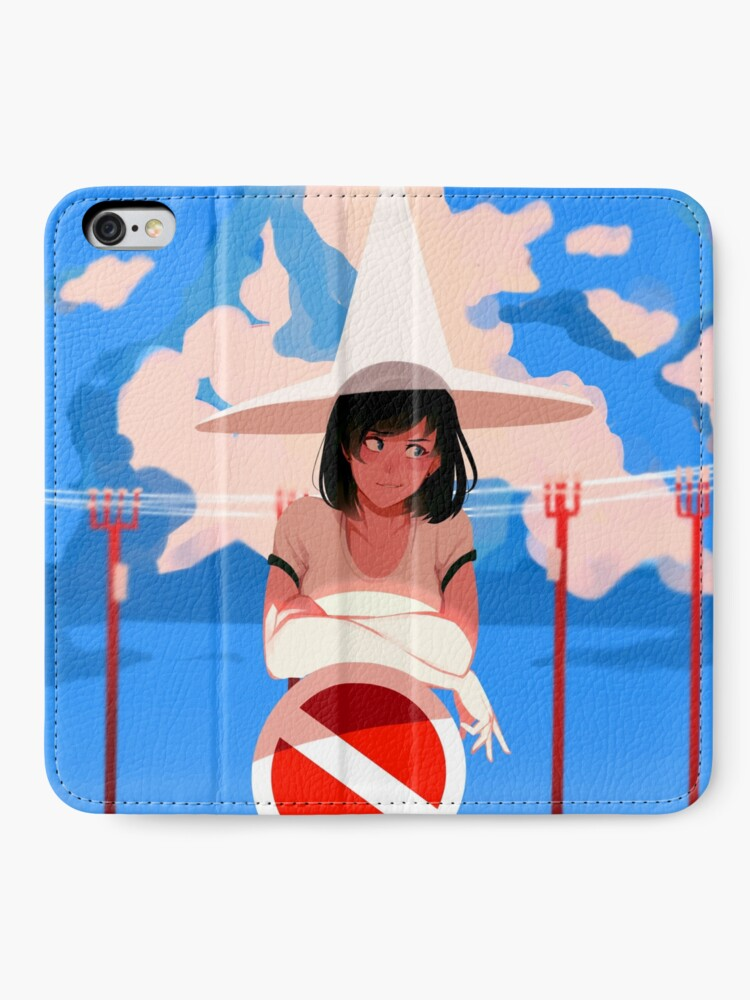Alternate view of summer magic iPhone Wallet