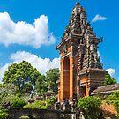 Bali Temple Door by Bobby McLeod