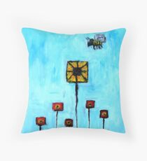 Building Blocks from Life Throw Pillow
