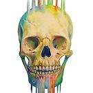 Rainbow Skull by Dylanunicorn