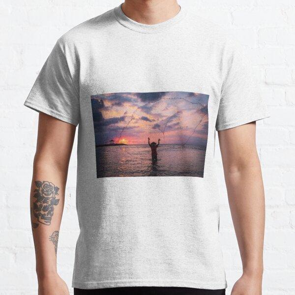 Bali Sunrise Fisherman Classic T-Shirt